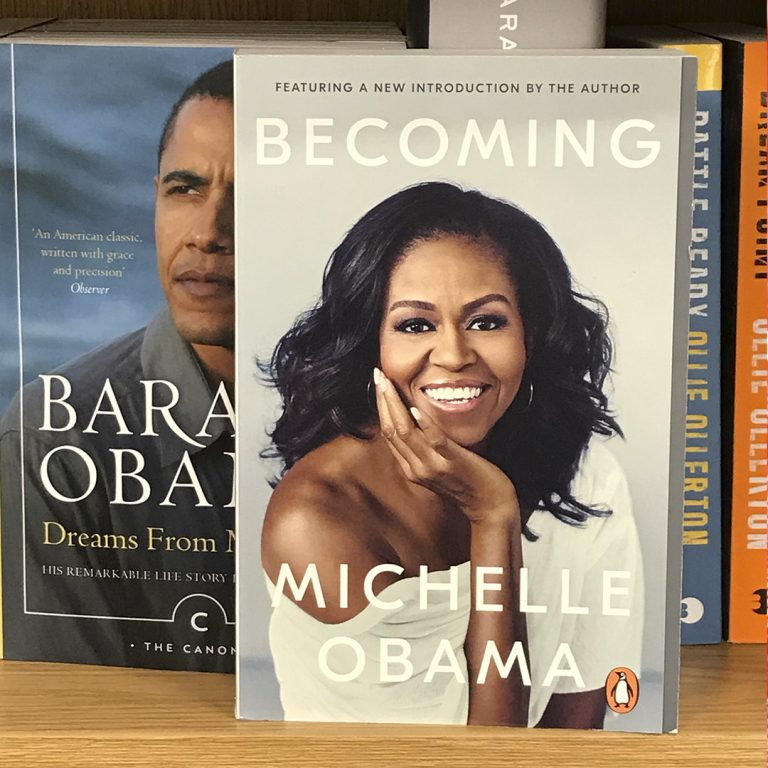 Becoming Michelle Obama - bookshop
